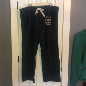 Abercrombie and Fitch heavy lounge sweatpants XL